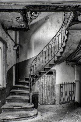 Sticker escalier vétuste
