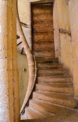 Sticker Escaliers renaissance à Lyon