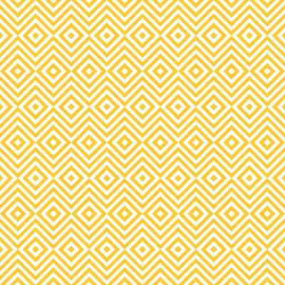 Sticker Ethnic tribal zig zag and rhombus seamless pattern.