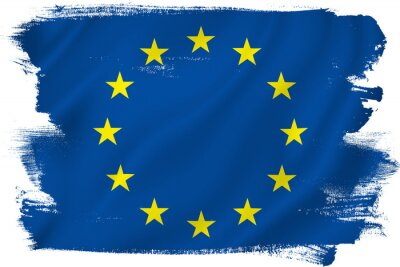 Sticker EU flag