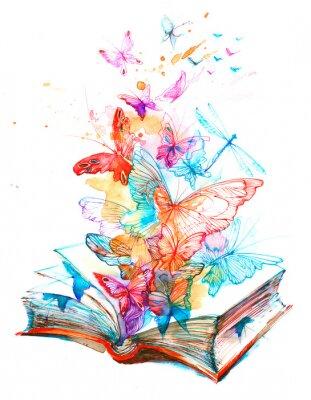 Sticker fairy book
