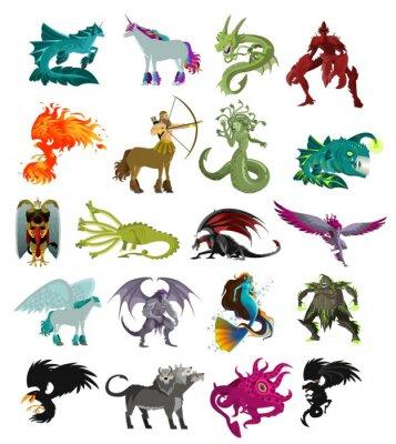 Sticker fantastic magical beasts