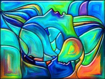 Sticker Fate in Color