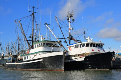 Sticker Fishing Boats