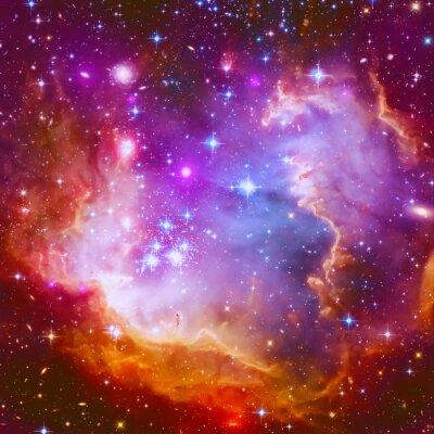 Sticker Flaming Star Nebula