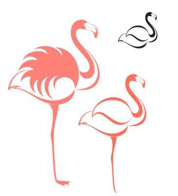 Sticker Flamingo