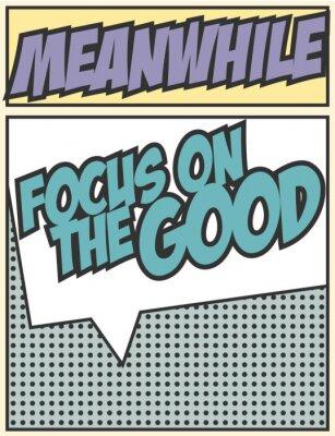 Sticker focus