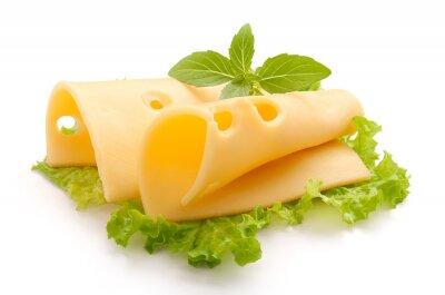 Sticker Folded Maasdam cheese