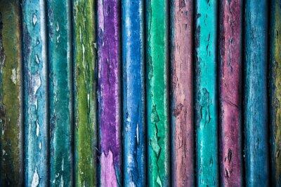 Sticker fondo legno colorato