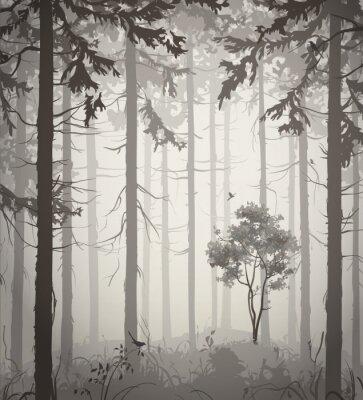 Sticker forest