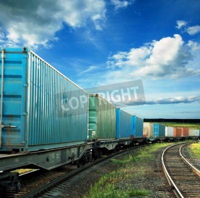 Sticker freight cars