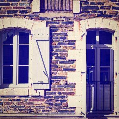 Sticker French Windows