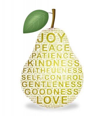 Sticker Fruit of the Spirit