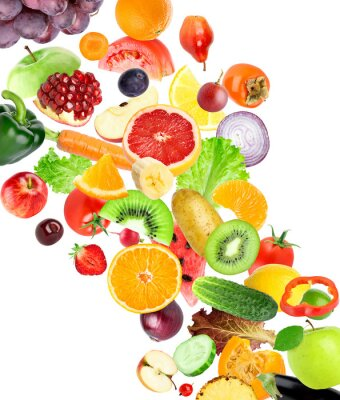 Sticker Fruits and vegetables