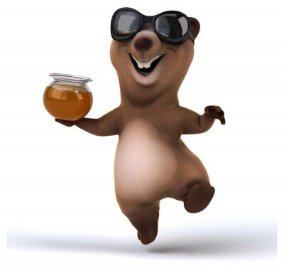 Sticker Fun bear