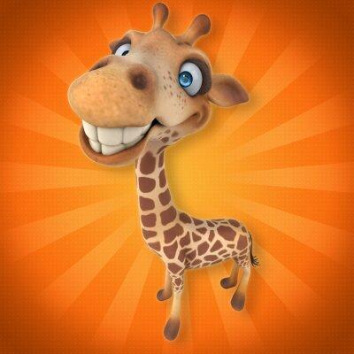 Sticker Fun giraffe