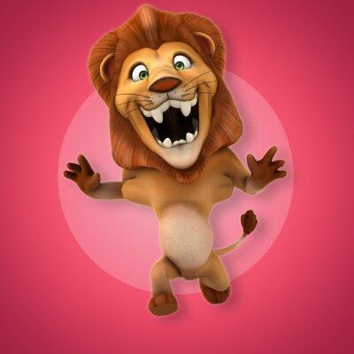 Sticker Fun lion