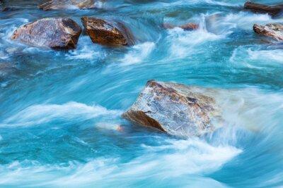 Sticker Glacier river