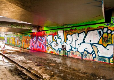 Sticker Graffitti Wall