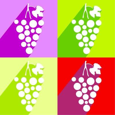 Sticker Grape