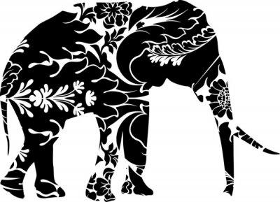 Sticker Graphic elephant