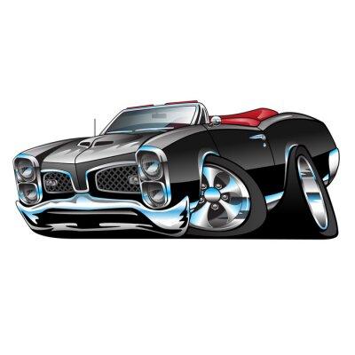 Sticker GTO American Muscle Car