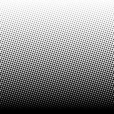 Sticker Halftone background