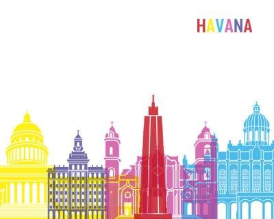 Sticker Havana skyline pop