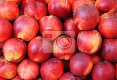 Sticker Heap of ripe peach in heap