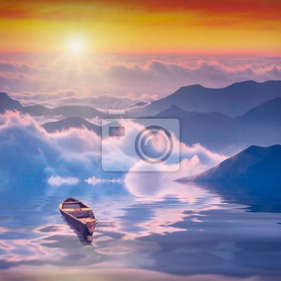 High mountains sunrise_2