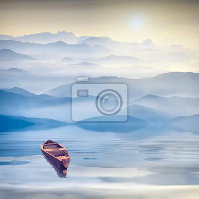 High mountains sunrise_4