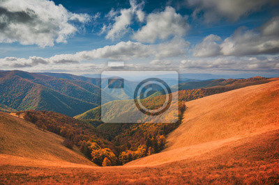Hills of Borzhava ridge