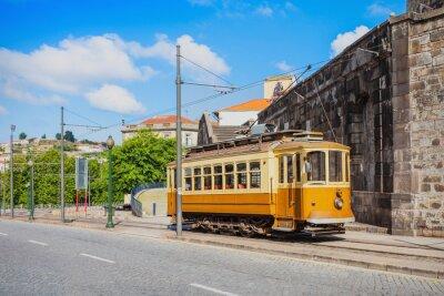 Sticker Historical Tram, Porto