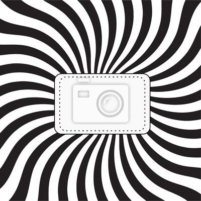 Sticker hypnotize retro