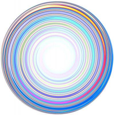 Sticker illustration of abstract Mandala