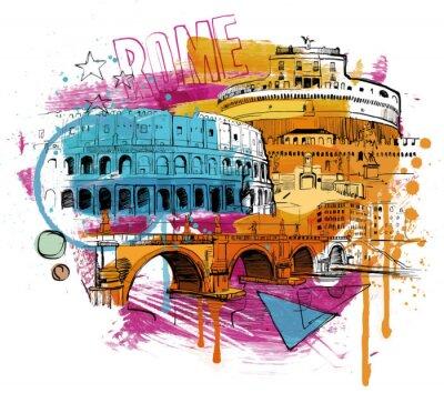 Sticker Inside Rome