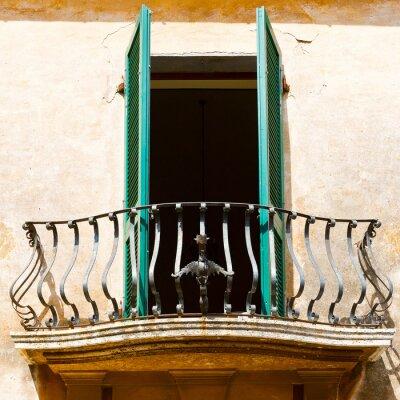 Sticker Italian Balcony