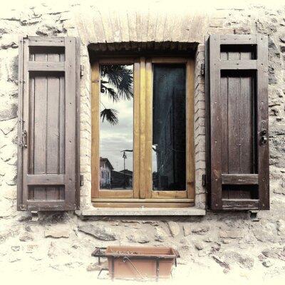 Sticker Italian Window