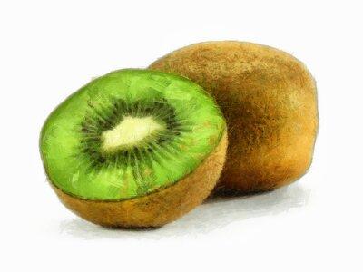 Sticker Kiwi