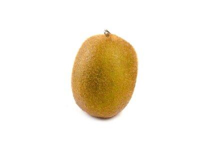Sticker Kiwi fruit isolated on white background
