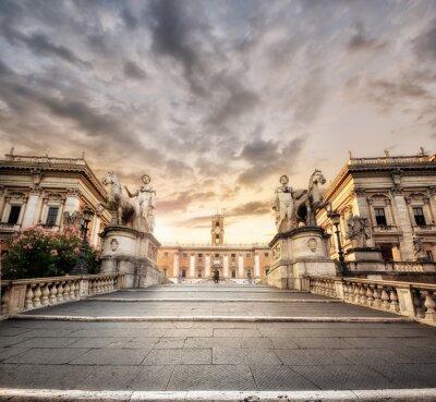 Sticker La scalinata del Campidoglio, Roma