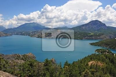 Lac se Serre Ponçon