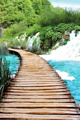 Sticker Lake of Plitvice magical ride, Croatia