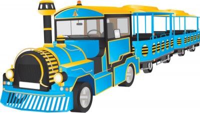 Sticker Land Train