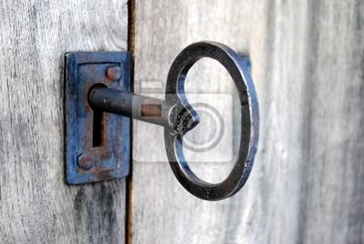 large old key