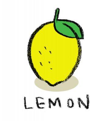Sticker Lemon