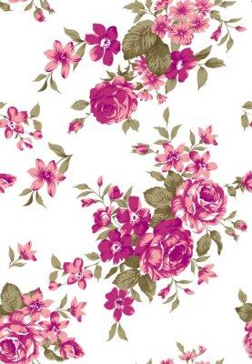 Sticker Livia Floral Pattern