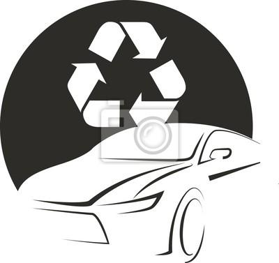 logo icon renewable energy car