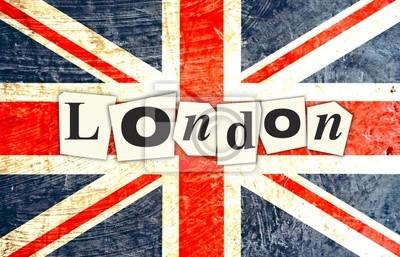 LONDON ENGLISH FLAG