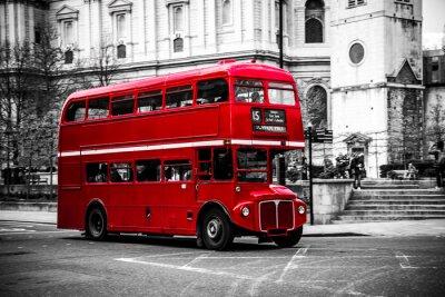 Sticker London's iconic double decker bus.